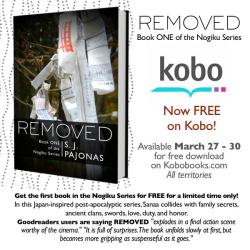 Free: Removed (Nogiku #1) by SJ Pajonas