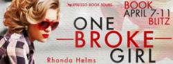 Book Blitz: One Broke Girl by Rhonda Helms