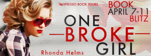 Book Blitz: One Broke Girl by Rhonda Helms