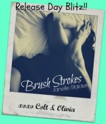 Release day blitz: Brush Strokes by Janelle Stalder