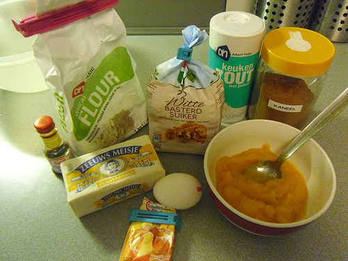 Cinnamon Sugar Pumpkin Cookies Ingredients