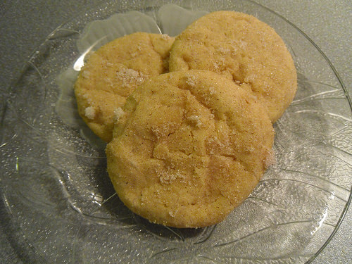 Cinnamon Sugar Pumpkin Cookies