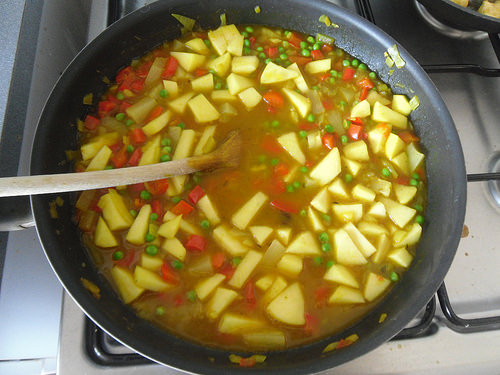 Fruity Yellow Chicken Curry