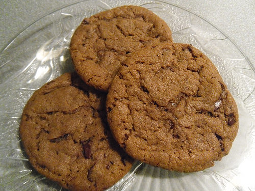 Hazelnut Paste Cookies close up