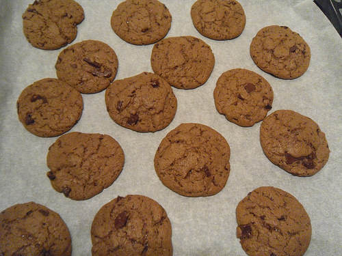 Hazelnut Paste Cookies done
