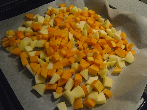 Pumpkin and Apple squares