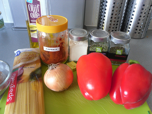 Cajun Pasta Ingredients