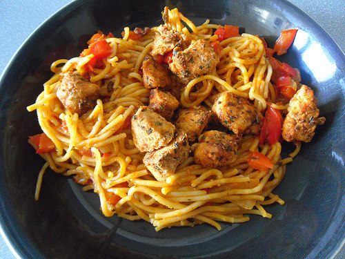 Cajun Pasta with Chicken