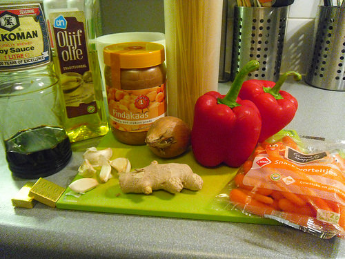 Ingredients Peanut Pasta