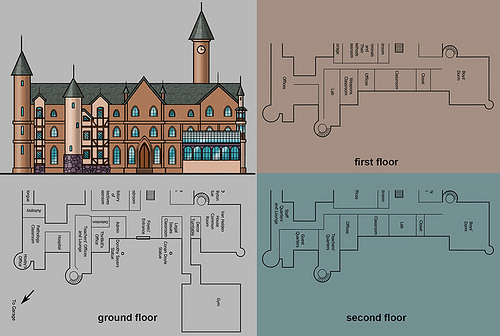 School design based on floorplans