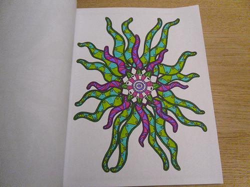 Tentacle Flower Colouring