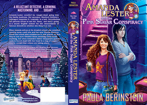 front and back cover Amdanda Lester and the Pink Sugar Conspiracy