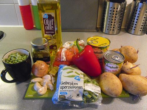 Ingredients Shepherds pie