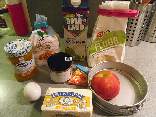 Mini Applecake Ingredients