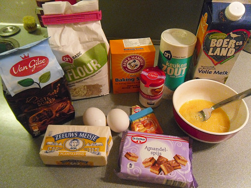 Speculaas Muffins Ingredients