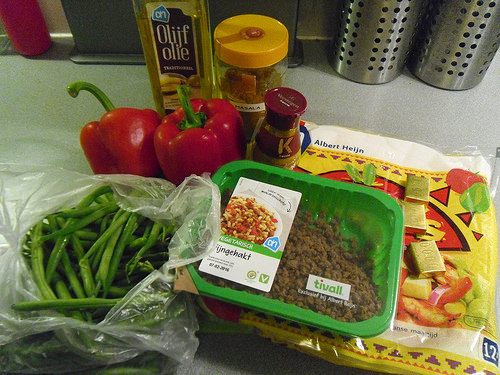 Wrap-with-curry-sauce-and-rice-Ingredients