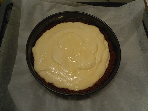 Cheesecake-before-oven