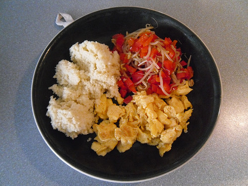 Couscous-with-veggies-and-egg