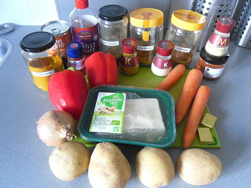 Sweet-Curry-with-Tofu-Ingredients