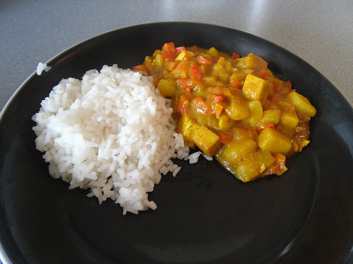 Sweet Tofu Curry