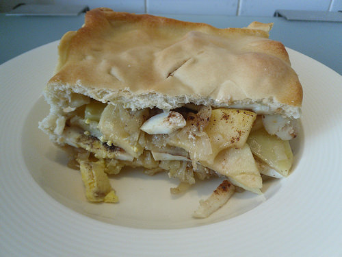 Close-up-Onion-Pie