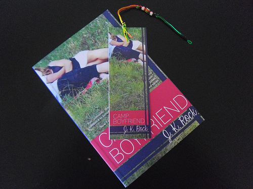 Camp Boyfriend bookmark