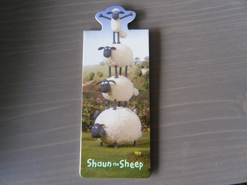 Shaun bookmark