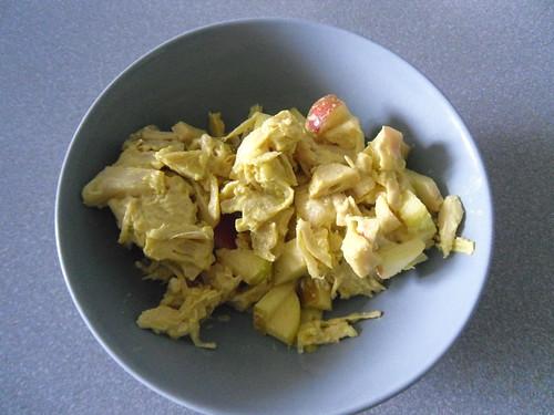Jackfruit Curry Salad