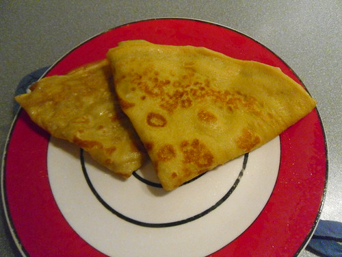 Crepes-folded