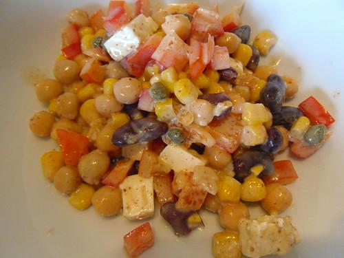 Lola's Kitchen: Mediterranean Bean Salad Recipe