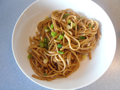 Udon Noodles with Garlic
