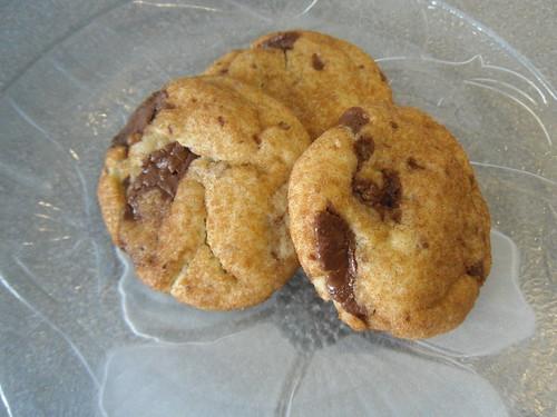 Lola's Kitchen: Snickerdoodles with Chocolate Chips Recipe