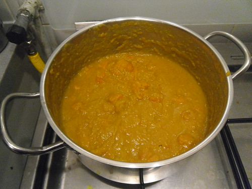 Lentils and Sweet Potato Soup