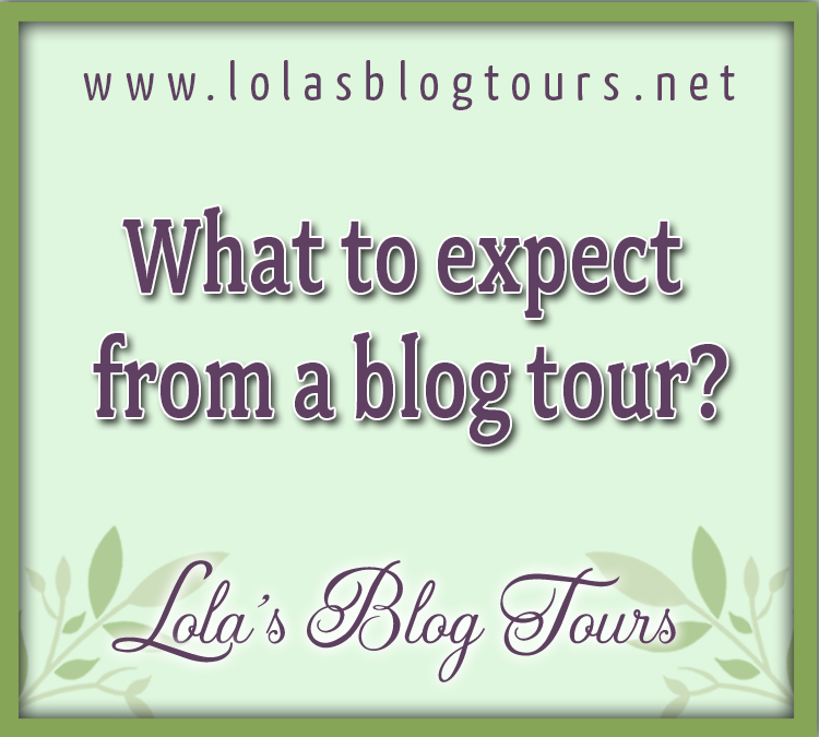 What to expect from a blog tour graphic