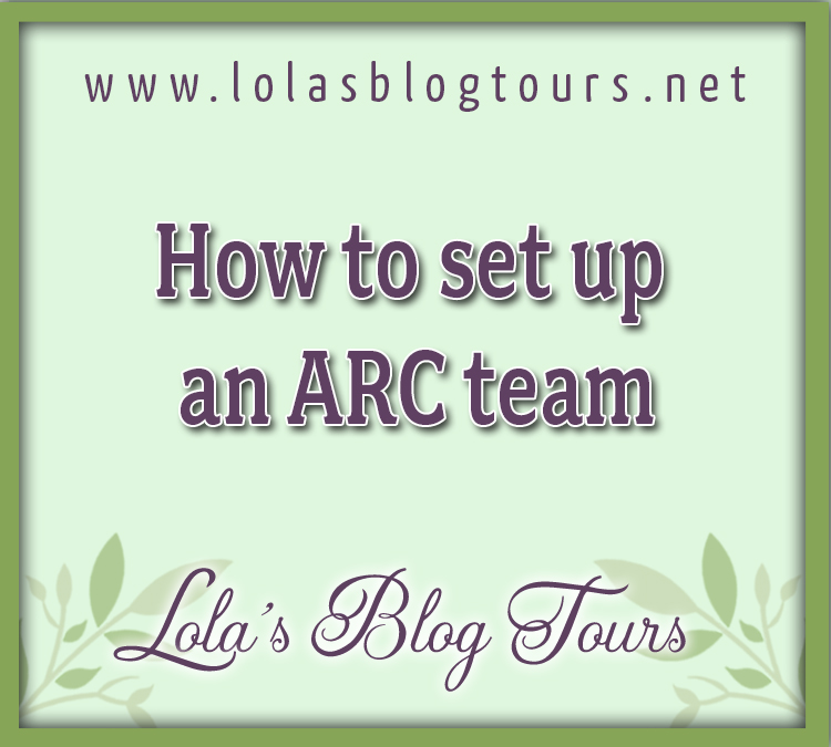 how to set up an arc team graphic